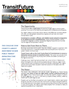 Download a fact sheet about Transit Future