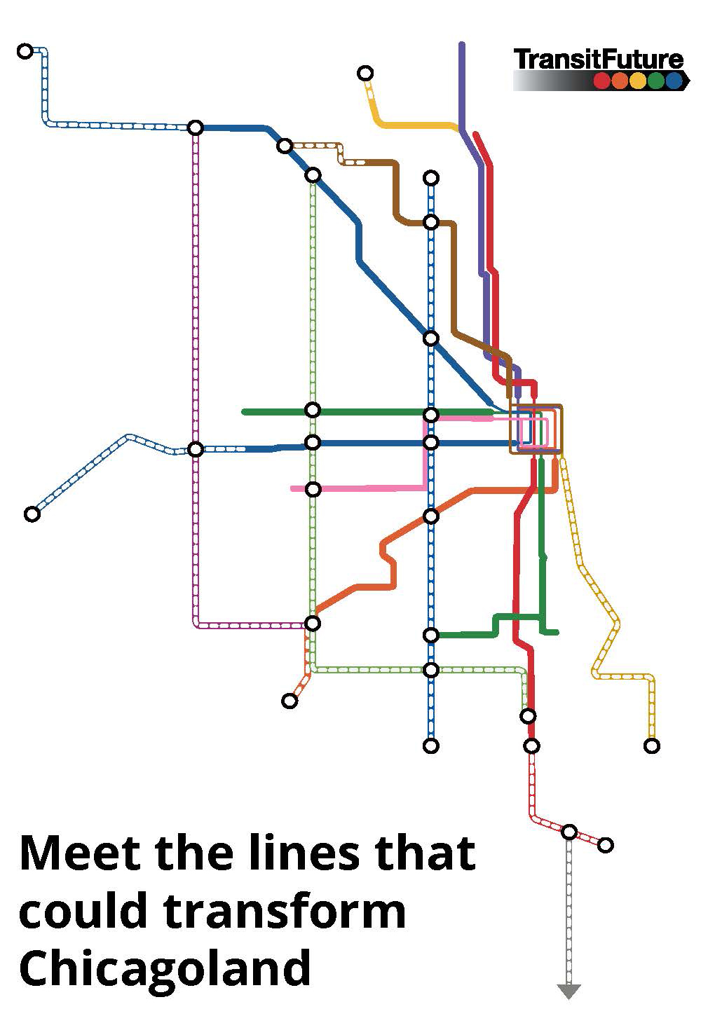Meet the lines that could transform Chicagoland